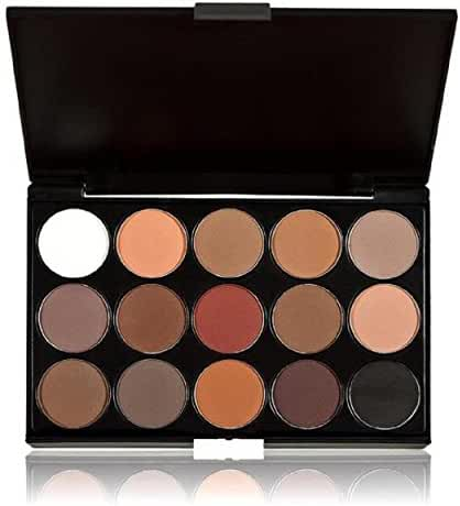 Evermarket Professional 15 Colors Women Cosmetic Makeup Neutral Nudes Warm Eyeshadow Palette