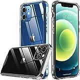 Temdan Slim Case Designed for iPhone 12 Case/Designed for iPhone 12 Pro Case -Transparent