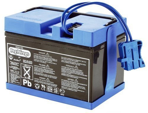 Peg Perego S.p.A Y KB0036 - 12V Batterie 12Ah f. Fahrzeuge 12V