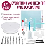 MERRI Cake Decorating Supplies 171 Pcs| Includes