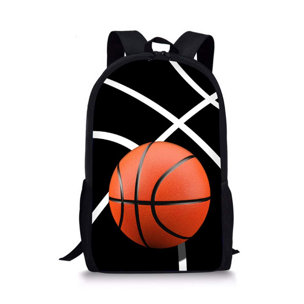 B LBYMYB Ball Backpack Creative Baseball Bag Student Youth Leisure Travel Bag kids's backpack (color   C)