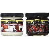 Walden Farms Calorie Free Dip Marshmallow 12 oz & Calorie Free Chocolate Dip 12 oz (Pack of 2)