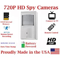 SecureGuard 30 Day Battery Powered Motion Detector Spy Camera