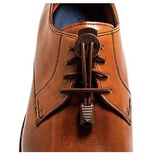 LOCK LACES Premium Elastic No Tie Shoelaces For Dress Shoes