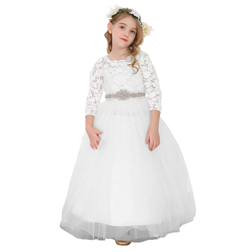 blanc Long 2_ans Bowdream - Robe - Fille