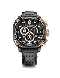 Tonino Lamborghini Mens Watch Chronograph 4 Screws 4850