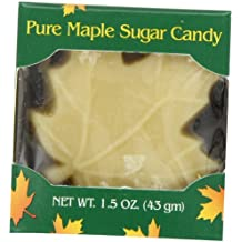 Butternut Mountain Farm Pure Maple Sugar Candy, 1.5-Ounce Leaf  (Pack of 12)