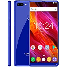 OUKITEL MIX 2 6GB+64GB 5.99 inch Android 7.0 MTK6757/Helio P25 Octa Core up to 2.39GHz WCDMA & GSM & FDD-LTE (Blue)
