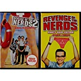 La Revanche des Tronches - Revenge of the Nerds (1984) / La Revanche des Tronches 2: Les Tronches Aux Paradis - Revenge of the Nerds 2: Nerds in Paradise (1987) 2 Films (English/French) Régie au Québec