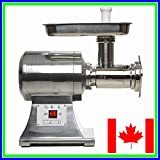 True 1HP Commercial Meat Grinder Electric NO. 22 ETL …