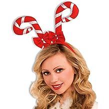 Forum Novelties Candy Cane Antler Headband