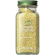 Simply Organic Sesame Seed Whole Certified Organic, 3.7-Ounce Containers  (Pack of 3)