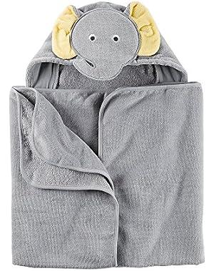 Baby Elephant Puppet Towel