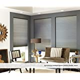 Custom Cordless Double Cell Shades, 43W x 42H, Tussah