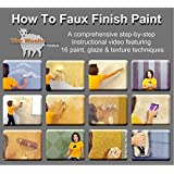 DVD - ORIGINAL & OFFICIAL Full-Length How-To Paint Step-by-Step Faux Finishing Painting Instruction Video by The Woolie