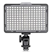 Amazon #DealOfTheDay: Neewer Photo Studio 176 LED Ultra Bright Dimmable on Camera Video Light with 1/4-inch Thread Mount for Canon, Nikon, Pentax, Panasonic, Sony, Samsung, Olympus and Other Digital SLR Cameras, 5600K