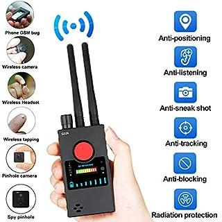 Hidden Camera Detector,Anti-spy Wireless RF Signal Detector,GSM Audio Bug Finder GPS Tracker Detector