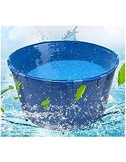 LJIANW Tarpaulin Portable Bucket Foldable Bath Tub Waterproof Thicken Canvas for Garden Patio, Custom Size