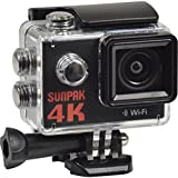 Sunpak Epic 4K HD Wi-Fi Waterproof Action Video Camera Camcorder with Underwater Housing
