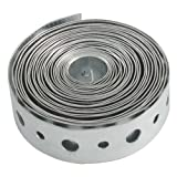 LDR 510 3300 Heavy Gauge Galvanized Pipe Strapping, 3/4-Inch x 10-Feet