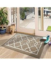DEXI Original Indoor Door Mat Low-Profile Entrance Rug,Outdoor Mat,Waterproof and Non Slip,Washable