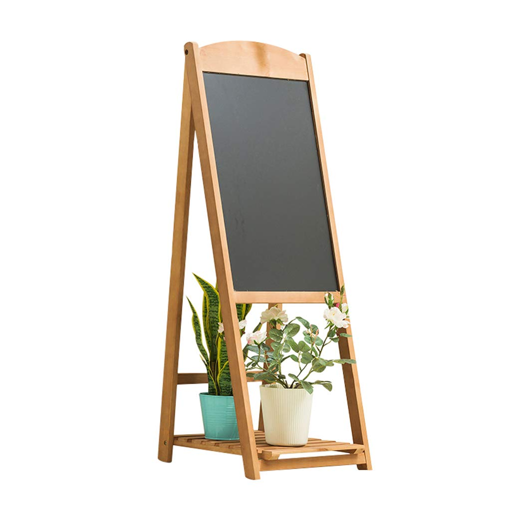 Home-FLW Vaso per Fiori in Legno con Tavolo da Disegno Sovrapposizione Ambientale Multistrato da Giardino Stand per Piante da Esterno Interno (colore   Vintage Colore, Dimensioni   Singolo Strato)