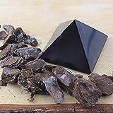 Heka Naturals Polished Shungite Pyramid 2