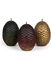 Game Thrones Sculpted Dragon Egg Candles Standard