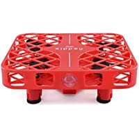Mini Quadcopter RC Mesh Drone Square Shape Headless Mode 2.4G Remote Control Helicopter with Mesh Protective Frame Children Toy