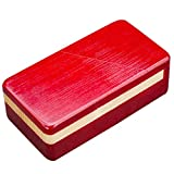 Blovec Puzzle Box Magic Box Wooden Special Mechanism Box for Secret Gift