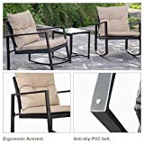 FDW Wicker Patio Furniture Sets Outdoor Bistro