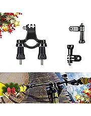 iDreamGoPro Bike Handlebar/Seatpost/Pole Mount for GoPro Hero 8/7/6/5/Session AKASO Apeman SJ4000 AKASO, Bicycle or Motorcycle Handlebar Mount Holder Action Camera Outdoor Sports Accessories
