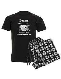 CafePress - Drummer Gift - Unisex Novelty Cotton Pajama Set, Comfortable PJ Sleepwear