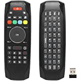 Smart Remote Replacement, BIFANS Fly Air Mouse Multifunctional Remote with Keyboard, Mini Wireless Keyboard & Remote Control for KODI Android Box HTPC IPTV PC Pad XBOX 360 (G7)