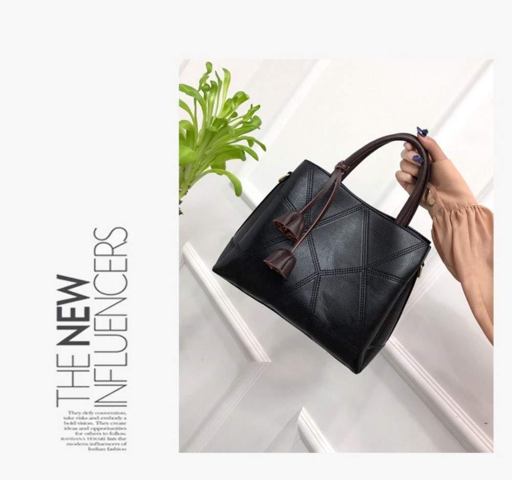 MSFANGDAN Umhängetasche Umhängetasche Umhängetasche Frauen Mode Handtasche Schultertasche Damen Vintage Messenger Bags Neue Freizeitaktivitäten Einfache Top-Handle Aktenkoffer B07P9HBTLK Damenhandtaschen Charakteristisch 54a10f