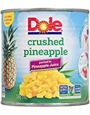 Dole Crushed Pineapple in Pineapple Juice, 398ml