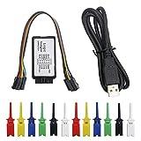KeeYees USB Logic Analyzer Device with 12PCS 6