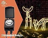 Plusmart 24 Hour Outdoor Lights Timer