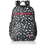 Skip Hop Duo Backpack, Cubes, Black/White