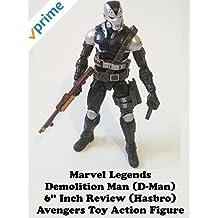 "Review: Marvel Legends Demolition Man (D-Man) 6"" Inch Review (Hasbro) Avengers Toy Action Figure"