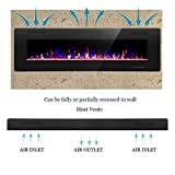 R.W.FLAME 60 inch Recessed and Wall Mounted