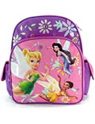 Disneys Fairies 12 Toddler Size Backpack - Featuring Tinker Bell
