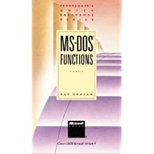 MS-DOS Functions