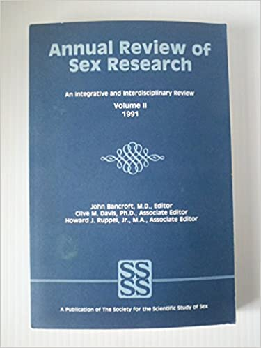 Annual review of sex