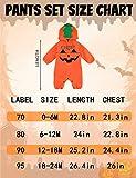 COSLAND Infant Baby Halloween Pumpkin Costume