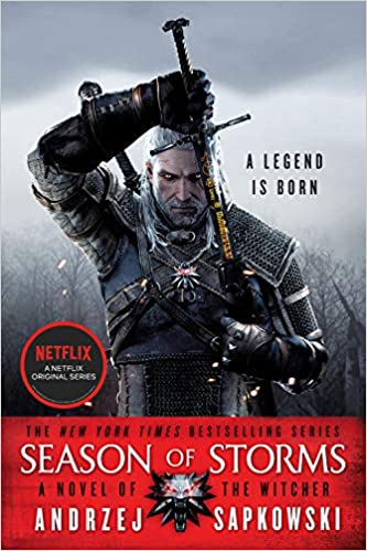 Season of Storms. The Witcher #6 book cover