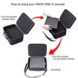 RLSOCO Hard Shell Carrying Case Compatible for Xbox One X/One S Console and Accessories - Fits for Xbox One Controllers, Headsets, Mobile Hard Drive, Cable ( Not for Xbox One or Xbox