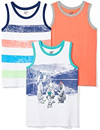 Boys 3-Pack Sleeveless Tank Tops