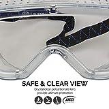 Neiko 53874A Protective Anti-Fog Safety Goggles