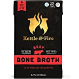 Wasserkocher & Fire Beef Bone Broth by 100 Percent Grass-fed, Organic, Collagen-rich Beef Bone Broth, 16.2 Fl Oz(Pack of 2)